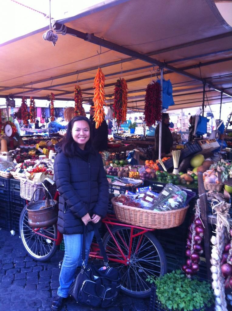 Browsing Rome: Diana in Campo dei Fiori