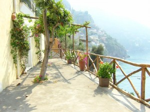 Positano - View from a terrace