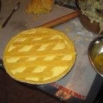 Pastiera - ready for the oven