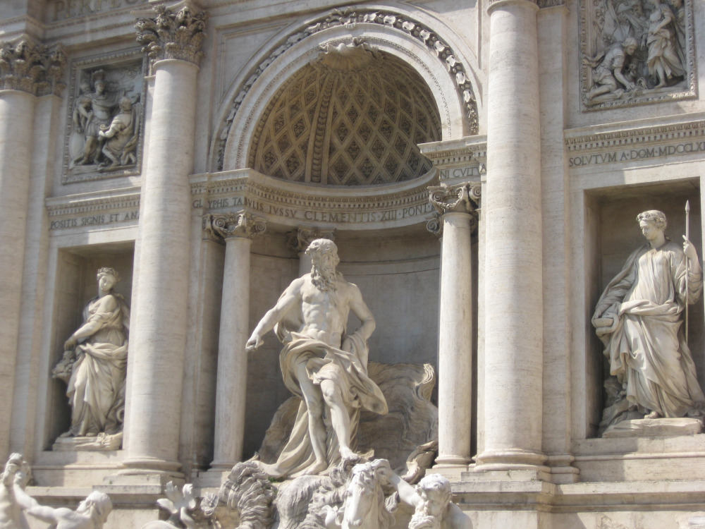 Neptune - Trevi Fountain