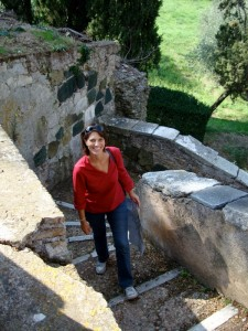 Browsing Rome with Silvia - Villa Adriana