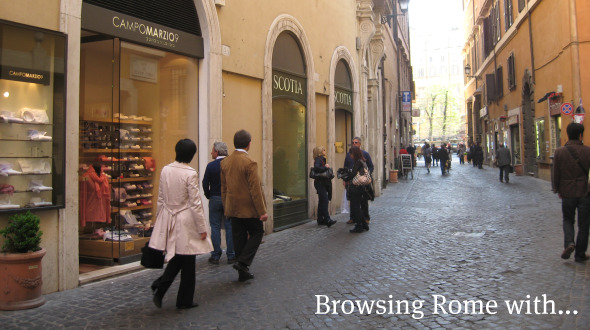 The idea behind 'Browsing Rome with…'