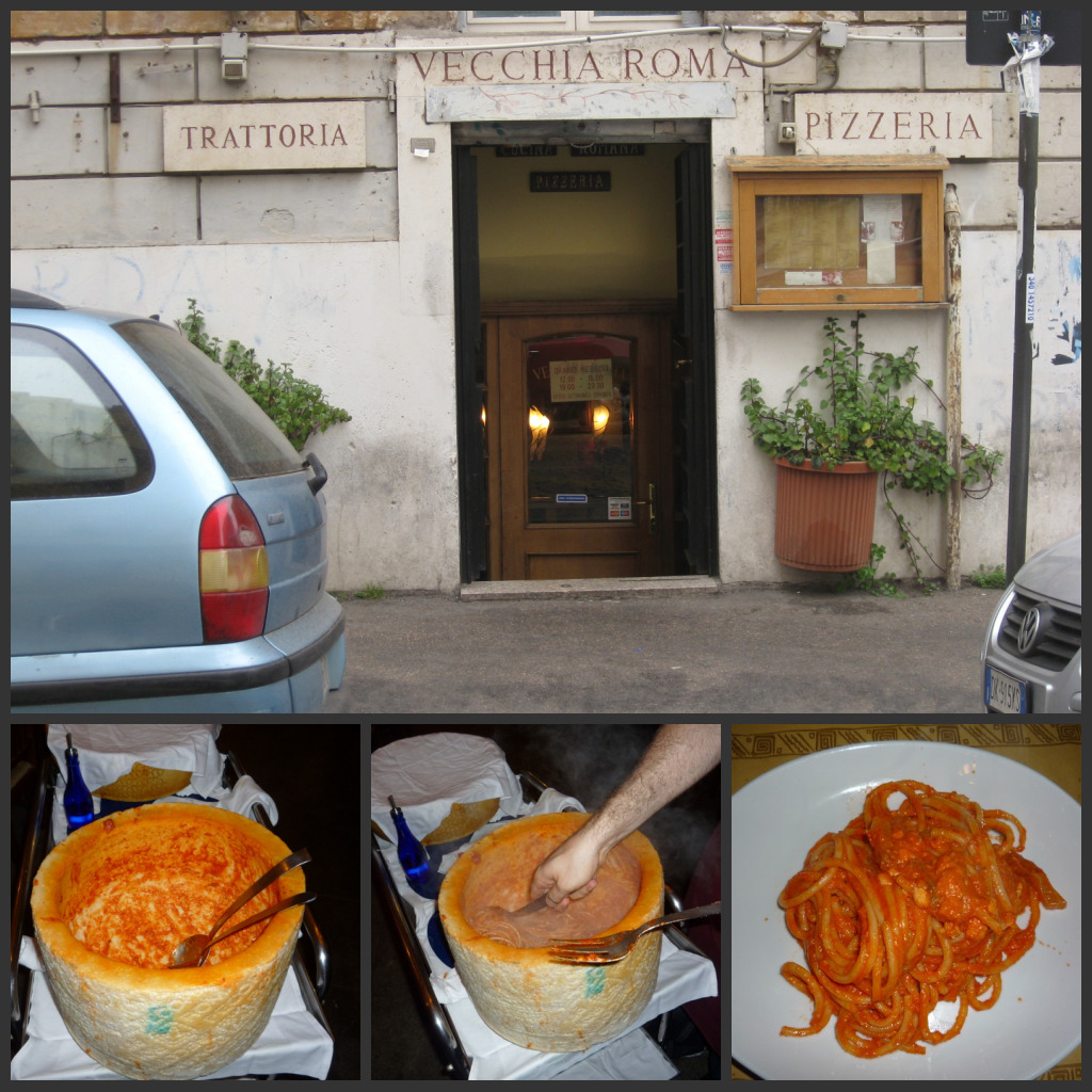 Rome restaurants vecchia roma browsingrome for La vecchia roma ristorante roma