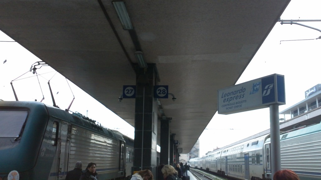 Termini Station, Rome, Italy