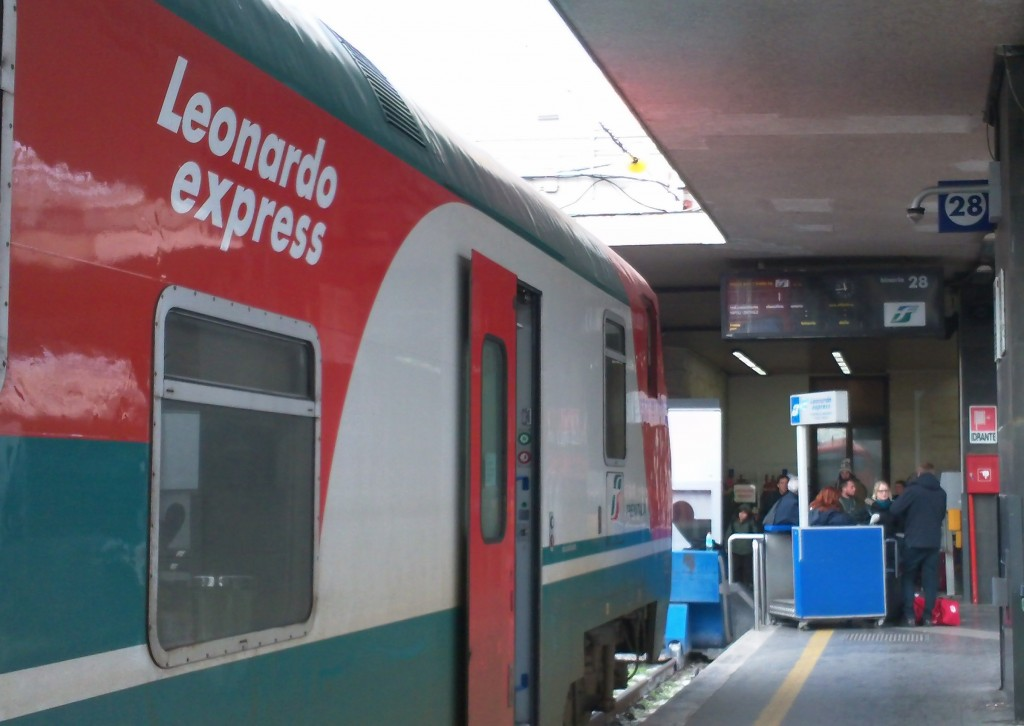 Leonardo Express from Termini to Rome Fiumicino Airport