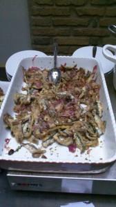 Sardines with onions at Urbana 47, Rome, Italy