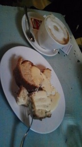Dessert at Urbana 47, Rome, Italy