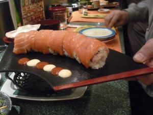 Sushi in Rome, Italy