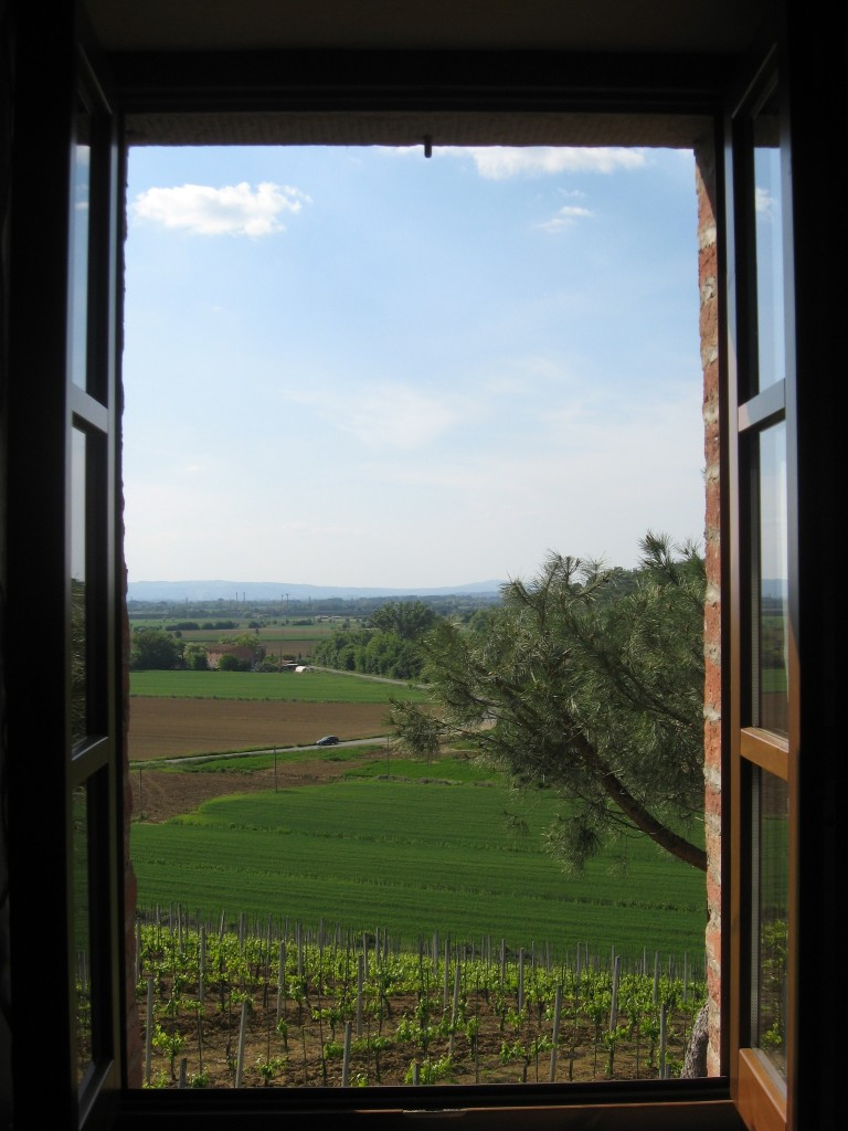 Bed and Breakfast in Montepulciano - Casa di Bacco-View from Room