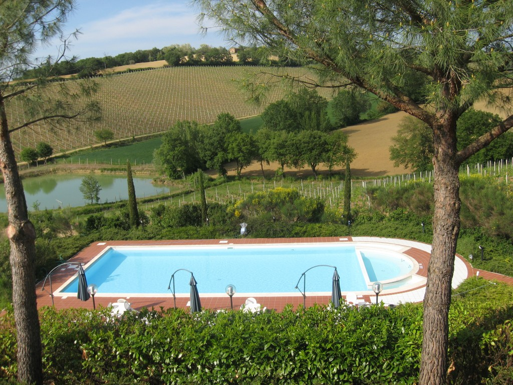 Bed and Breakfast in Montepulciano - Casa Di Bacco-Swimming Pool