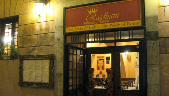 Indian Restaurant in Rome
