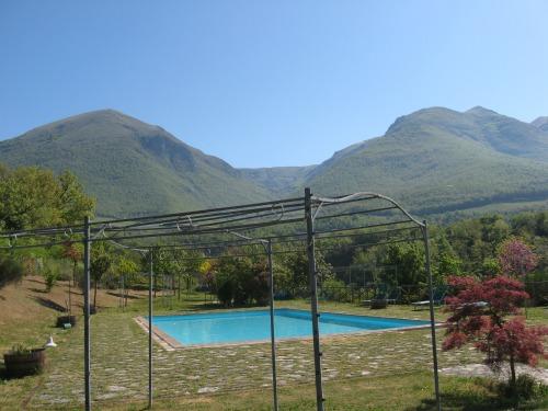 Norcia Accommodation: Casale nel Parco dei Monti Sibillino - Pool