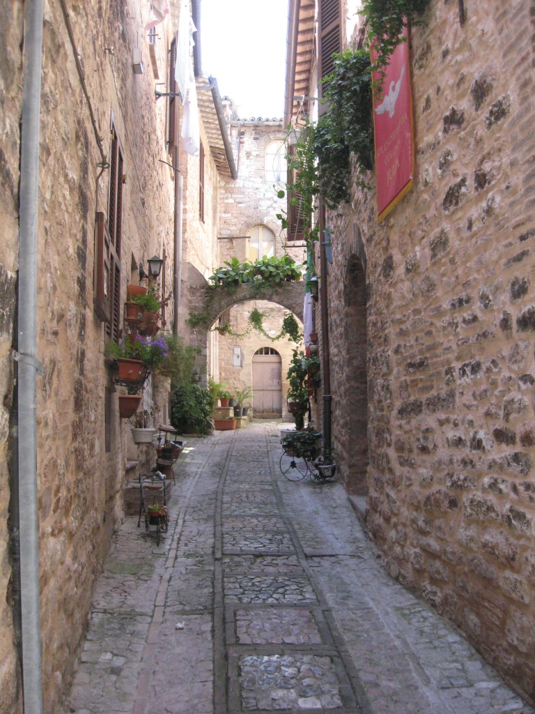 Umbrian Towns - Spello Streets