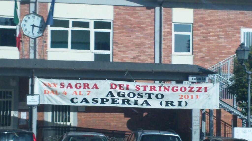 Sagra dei Stringozzi in Casperia