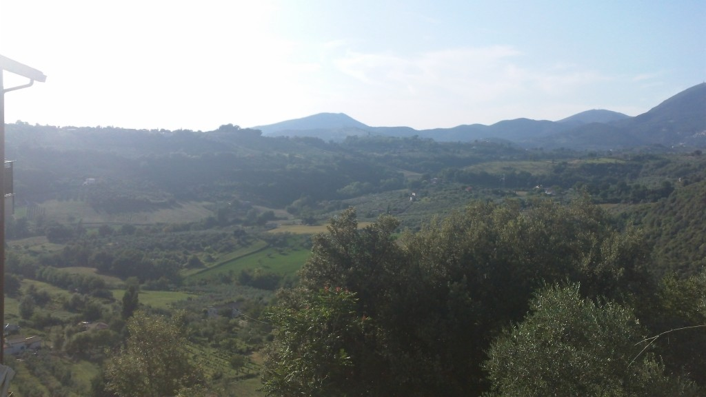 View from Casperia