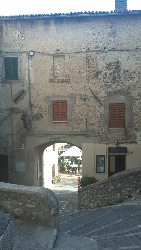 Glimpse of Casperia - Pedestrian Area