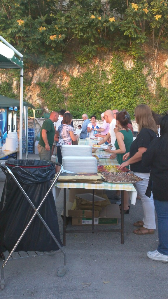 Line for food - Sagra dei Stringozzi - Casperia