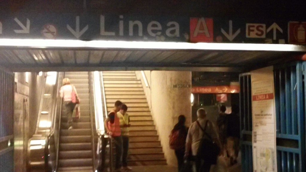 Rome Public Transport: Termini Station - Head to Linea A