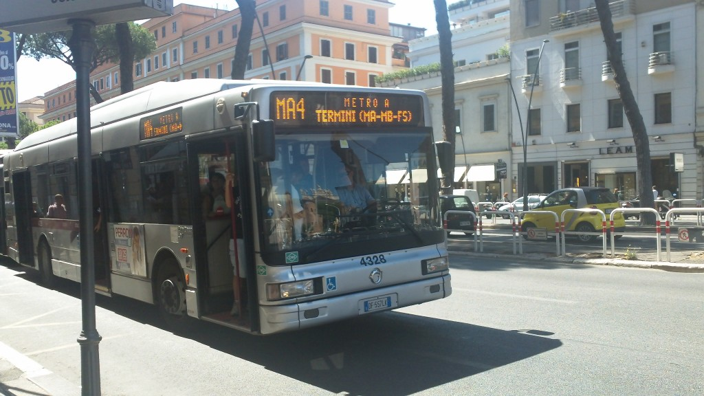 Rome Public Transport - Bus Shuttles to Termini from San Giovanni