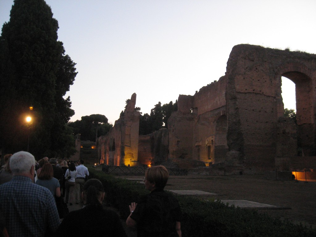 Opera at Terme di Caracalla