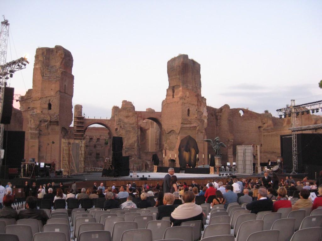 Opera at Terme di Caracalla - Stage