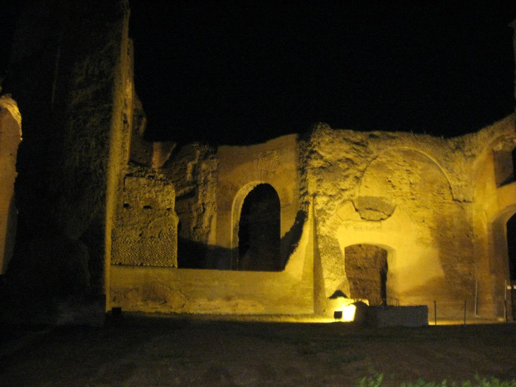 Opera at Terme di Caracalla - Ruins at night