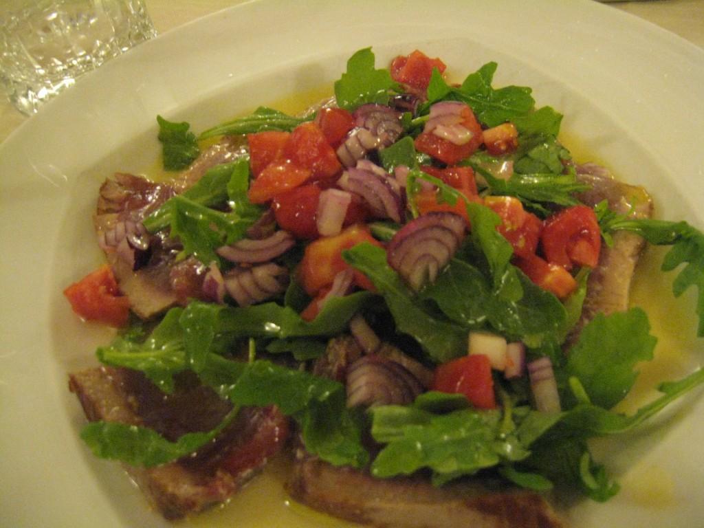 Restaurant in Rome - L'Antico Porto - Seared Tuna