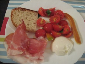 Lazio region - Simple delicious dinner