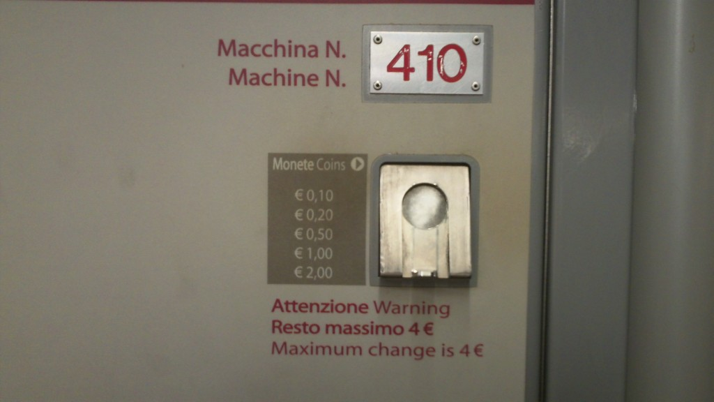 Public Transport in Rome - Purchase Tickets from Machines - Change