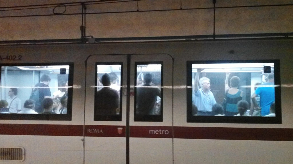 Public Transport in Rome - Metro