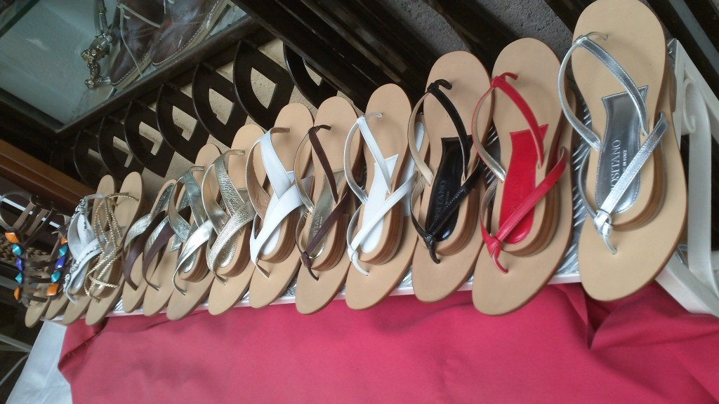 Shopping in Positano - Shoes