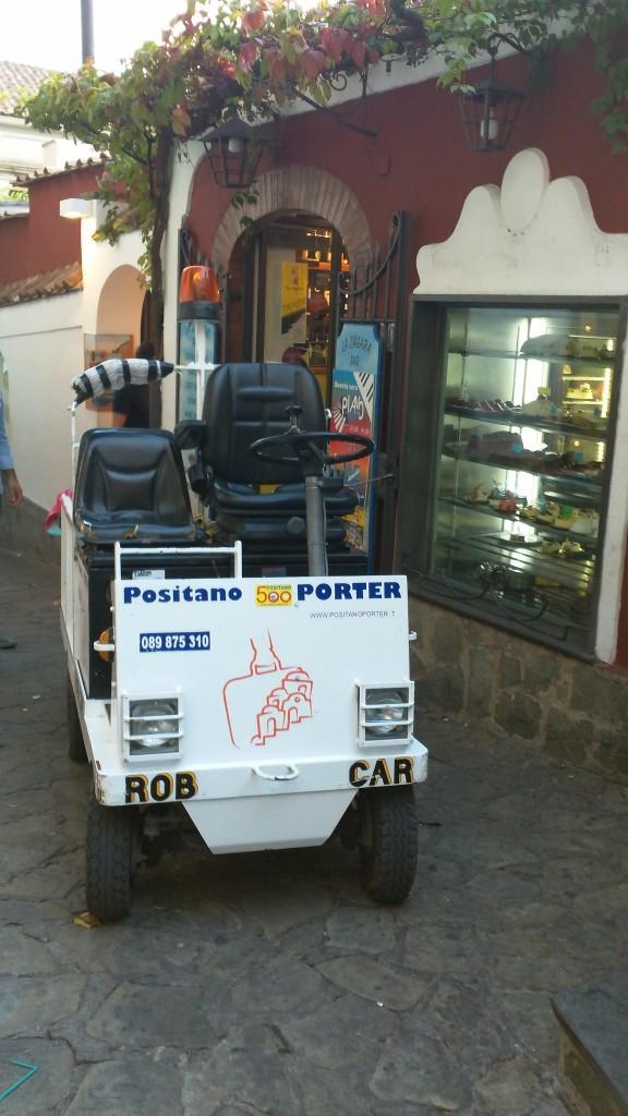 Porter Service in Positano