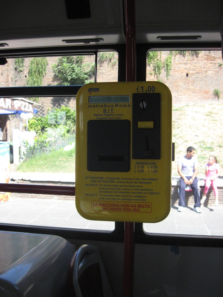 Public Transport in Rome - Purchase Tickets on Buses