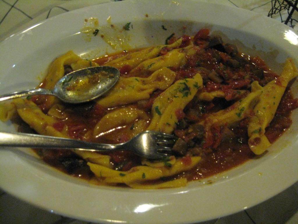 Homemade Pasta Caramelle Di AllUova In Senigallia