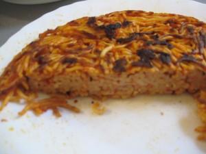 Pasta recipe: Frittata di Spaghetti al pomodoro