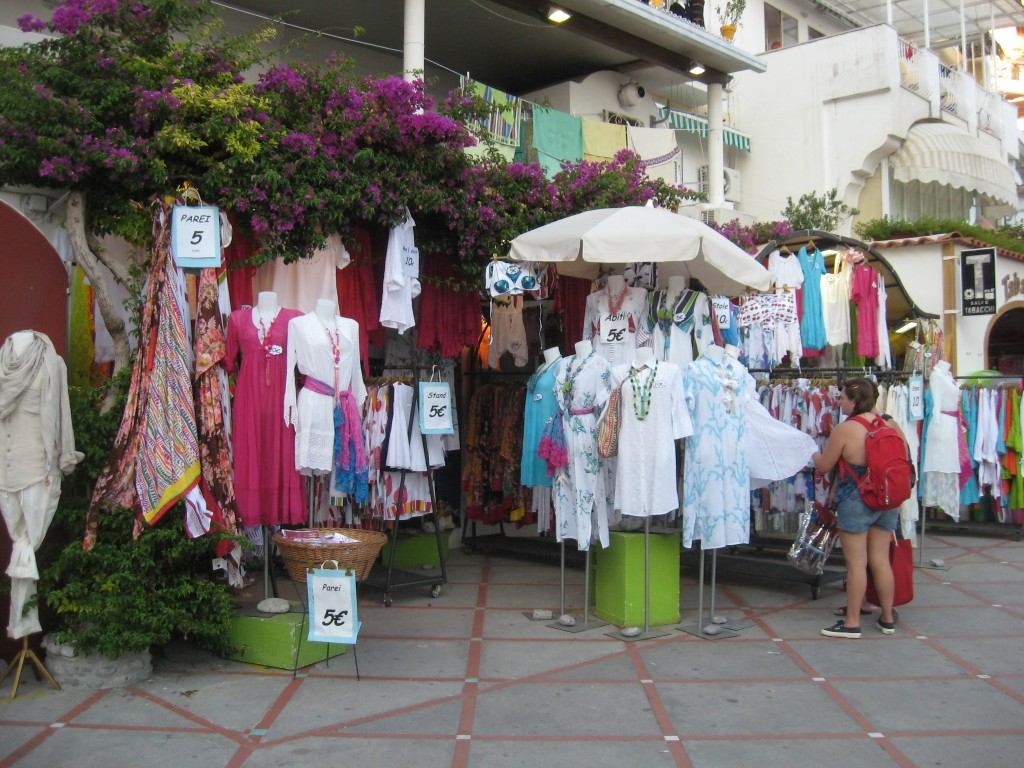 Shopping in Positano: Positano Style Clothes