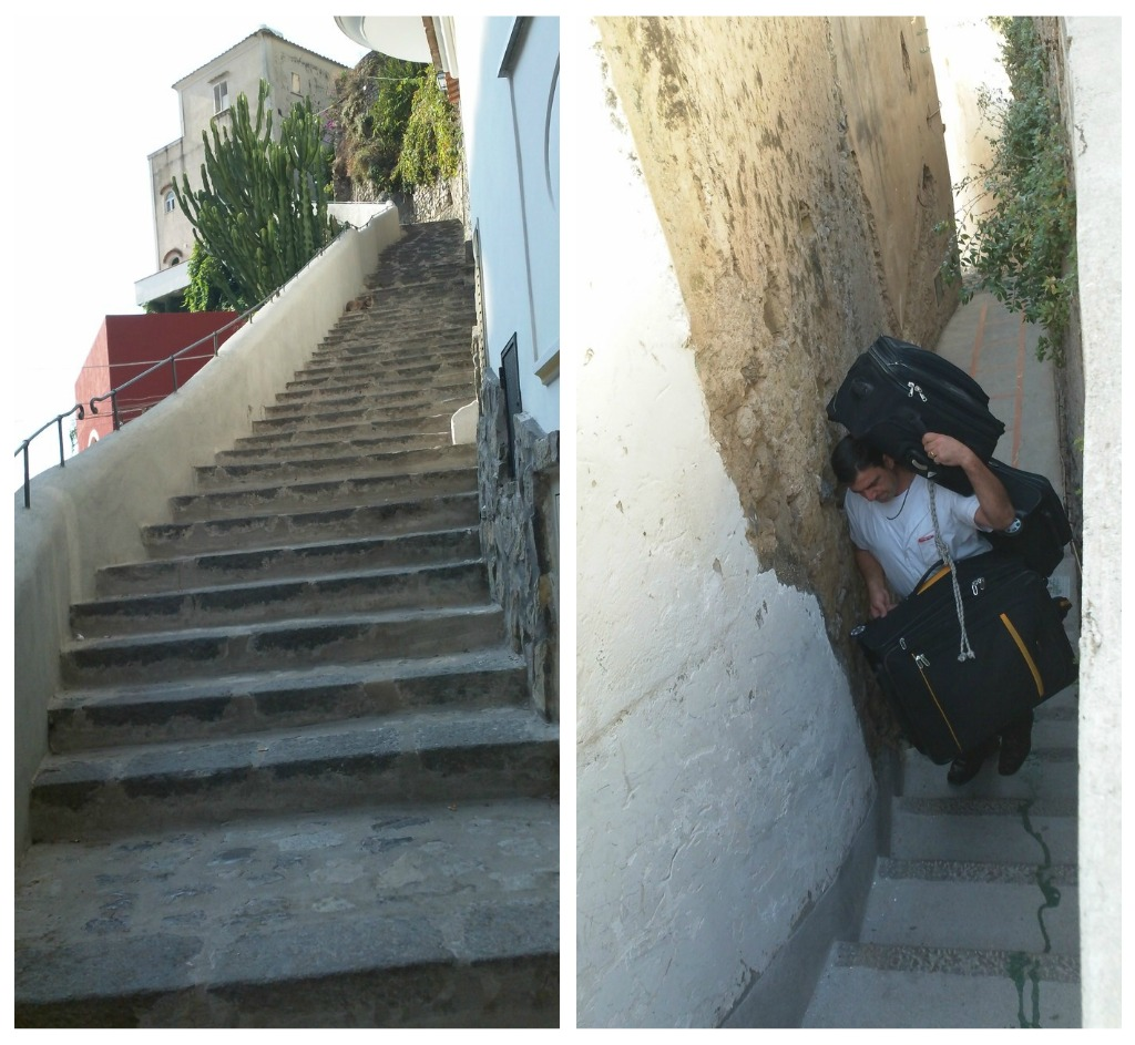 Stairs in Positano