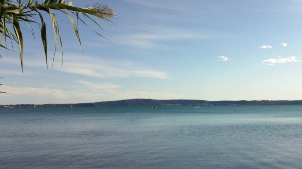 Saturday at Lake Bracciano