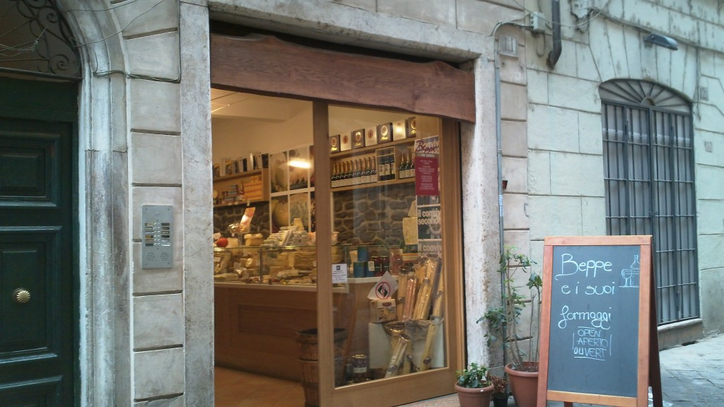 Alternative to a restaurant in Rome: Beppe e I Suoi Formaggi