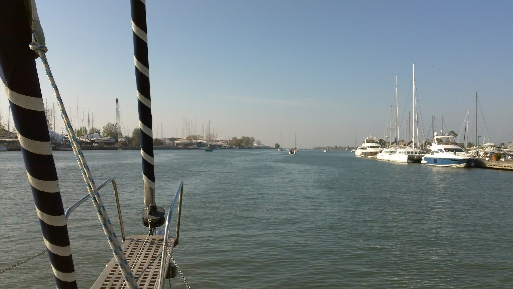 Living in Rome:Beautiful day for sailing