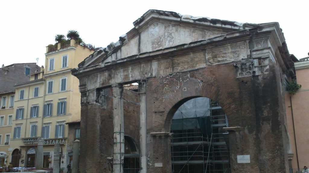Attraction in Rome: Portico Ottavia