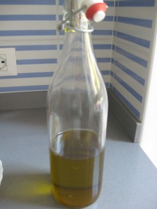 Olive Harvesting in Italy - Thank goodness! It's our last bottle.