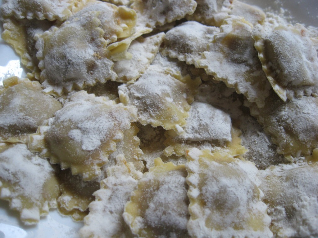 Homemade Ravioli Recipe: Ready to be cooked