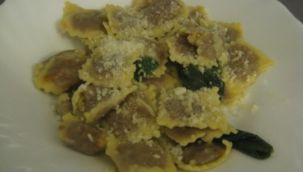 Homemade Ravioli Recipe: Pumpkin Filling