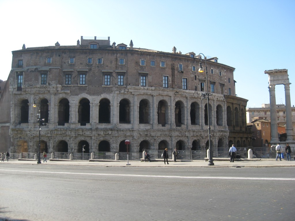 Attraction in Rome: Teatro Marcello