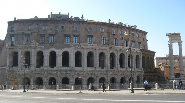 Attraction in Rome: Teatro Marcello (Theatre of Marcellus)