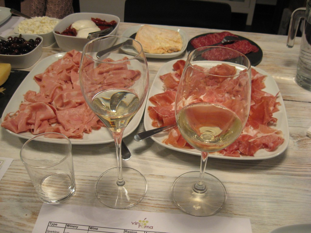 Wine tasting in Rome with Vino Roma: Wine and Food