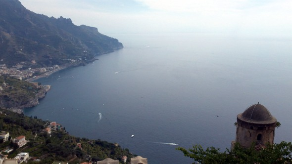 Ravello: View from Villa Rufolo