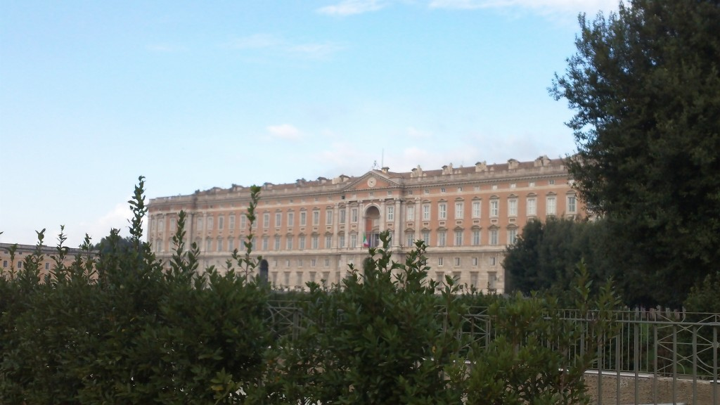 A Day Trip from Rome: Glimpse of the Palace of Caserta