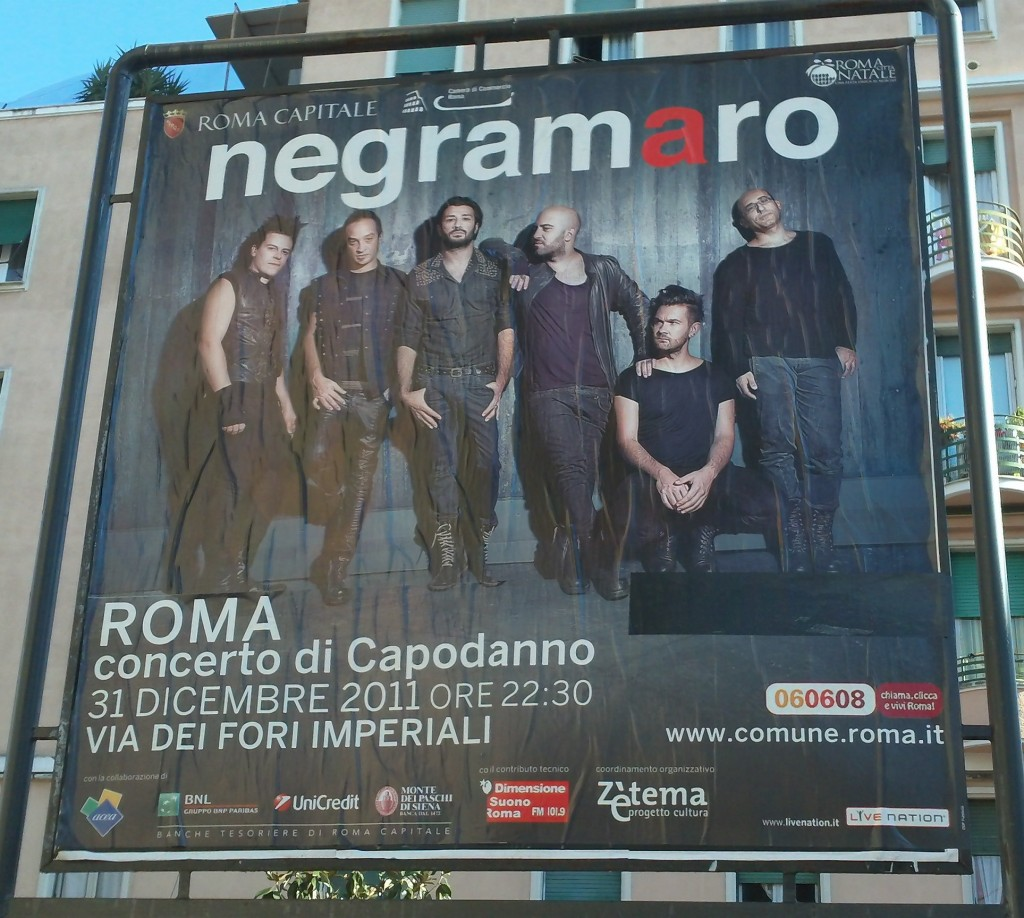 New Year's Eve in Rome: Concert